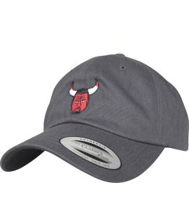Casquette Incurvée Turn Up Angry Dad Gris Charbon