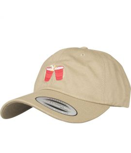 Casquette Incurvée Turn Up Wasted Dad Kaki