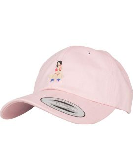 Casquette Incurvée Turn Up Implants Dad Rose