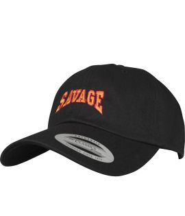 Casquette Incurvée Turn Up Savage Dad Noir