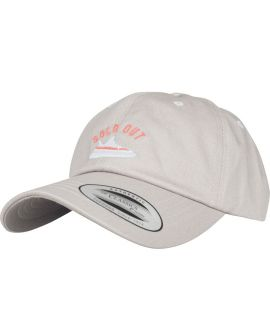 Casquette Incurvée Turn Up Raffle Dad Argent