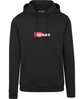 Sweat Capuche Turn Up Collab Hoody Noir