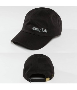 CasquetteThug Life / Snapback Cap Curved Noir