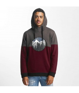 Sweat Capuche Just Rhyse / Mountain Rouge