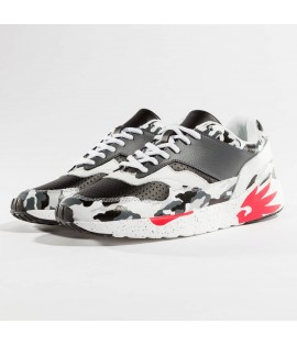 Chaussures Dangerous DNGRS / Sneakers Camo Rouge