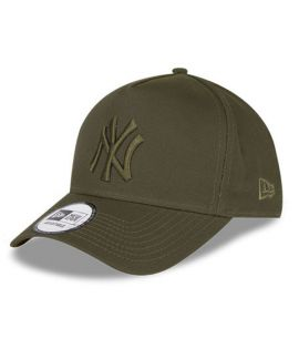 Casquette Trucker New Era New York Yankees League Essential Aframe Olive