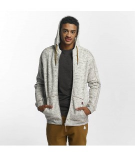 Sweat Zippé Capuche Just Rhyse / Clover Pass Gris