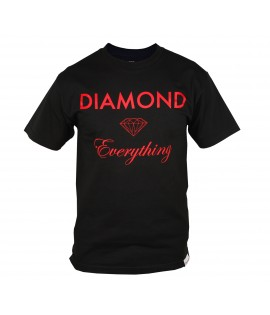 T-shirt DIAMOND SUPPLY Noir Diamond Everything