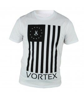 T-shirt VORTEX Flag Blanc by Maître Gims