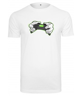 T-shirt Hands Of Gold All Day Esports HOG Blanc