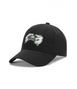 Casquette Incurvée Hands Of Gold All Day Curved Cap eSports Noir Néon Vert