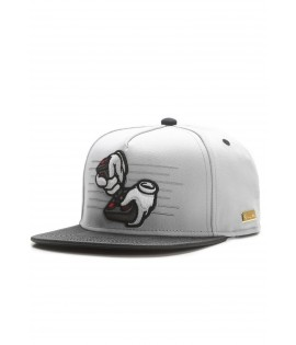 Casquette Hands Of Gold Ol School Cap eSports Gris Noir