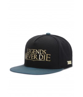 Casquette Hands Of Gold Legends Cap Esports Noir