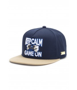 Casquette Hands Of Gold Game On Cap eSports Bleu Marine