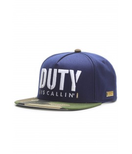 Casquette Hands Of Gold Is Callin Cap Esports Bleu Camo