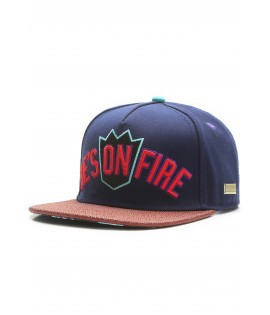 Casquette Hands Of Gold On Fire Cap eSports Bleu