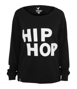 Sweat Crewneck léger URBAN DANCE Noir-Blanc Hip Hop Danse