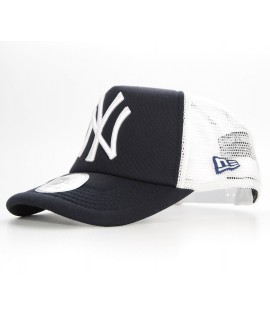 NEW ERA Snapback Trucker NY YANKEES Bleu marine Casquette à filet Ajustable