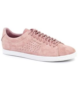 Chaussures Le Coq Sportif Charline Suede Ash Rose