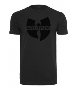 T-shirt Wu-Tang Clan black logo