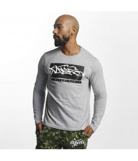 T-Shirt Manches longues Dangerous DNGRS Topping Gris