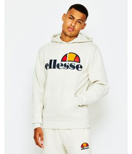 Sweat Capuche Ellesse Gottero Hoody Oatmeal Collection Ellesse Héritage