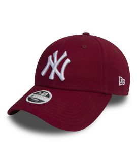 Casquette Incurvée Femme New Era New York Yankees 9Forty Bordeaux