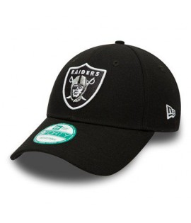 Casquette Adolescent New Era 940 Oakland Raiders The League Noire Youth 9Forty NFL