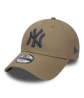 Casquette Adolescent New Era New York Yankees Beige Bleu Youth 9Forty MLB
