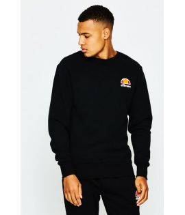 Sweat Ellesse Diveria Crew Noir Collection Ellesse Heritage