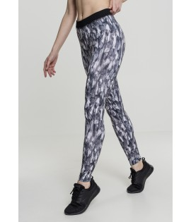 Legging Urban Classics Active Graphic Gris