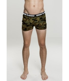 Lot de 2 boxers wood et dark camouflage