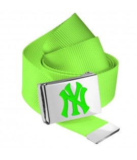 Ceinture NEW YORK Yankees MLB Vert Fluo NY MASTERDIS Belt