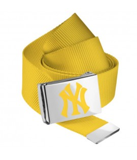 Ceinture NEW YORK Yankees MLB Jaune Fluo NY MASTERDIS Belt