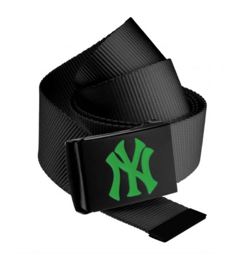 Ceinture NEW YORK Yankees MLB Noir NY Vert Kelly MASTERDIS Belt