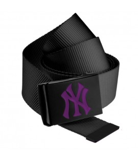 Ceinture NEW YORK Yankees MLB Noir NY Violet MASTERDIS Belt