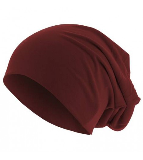 Bonnet Jersey Marron MASTERDIS Beanie Stretch