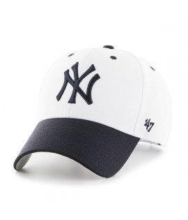 Casquette 47 Brand New York Yankees Audible MVP Blanc