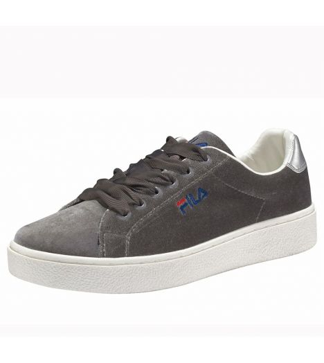 Fila Chaussures basses velours UPSTAGE V Gris - Chaussures Baskets basses Femme