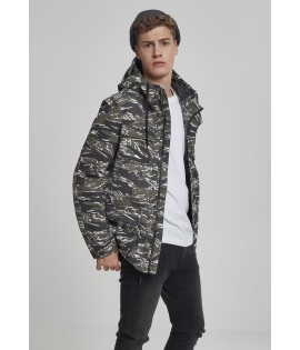 Parka camouflage tigre