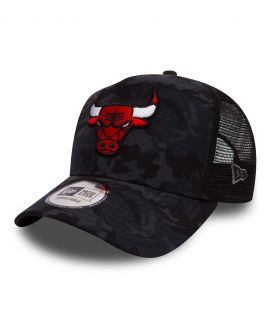 Casquette à filet Chicago Bulls CAMO TEAM