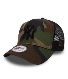 Casquette à filet pour femme New York Yankees CAMO TEAM
