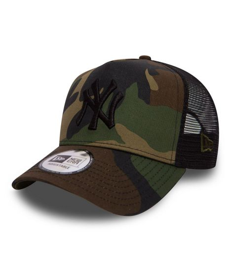 1cd7be84213aef Casquette Trucker Femme New Era New York Yankees Camo Team Wood Camouflage