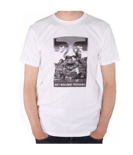 T-Shirt  Obey Nightwatch Blanc