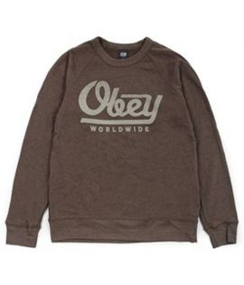 Sweat Capuche Obey Le Worldwide Noir Hoody