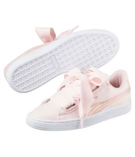 Chaussures cuir basket lacets canvas HEART CANVAS