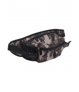 Sac banane camouflage en nylon multiples compartiments