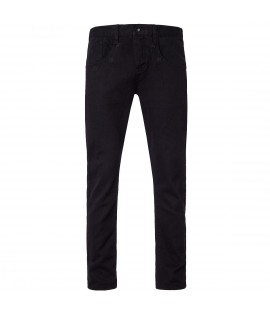 """Jeans Straight Fit ROCAWEAR Noir denim """"in the stars"""" Taille US"""