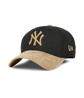 Casquette New Era New York Yankees 3930 Suède Poly Mix NFL