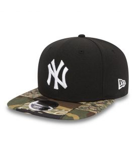 Casquette New Era 9Fiifty New York Yankees Patchwork Camo Snap Noir